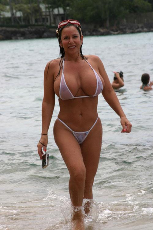 cougar a la plage le cannet